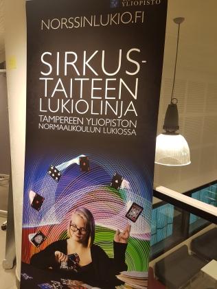 Sirkuslinjan esittely Norssilla 24.1.